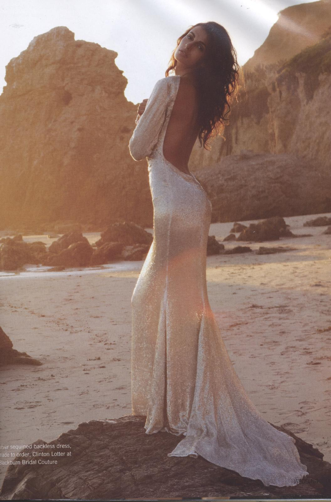 Sexy Backless Wedding Dresses Dress Up Your Life With
